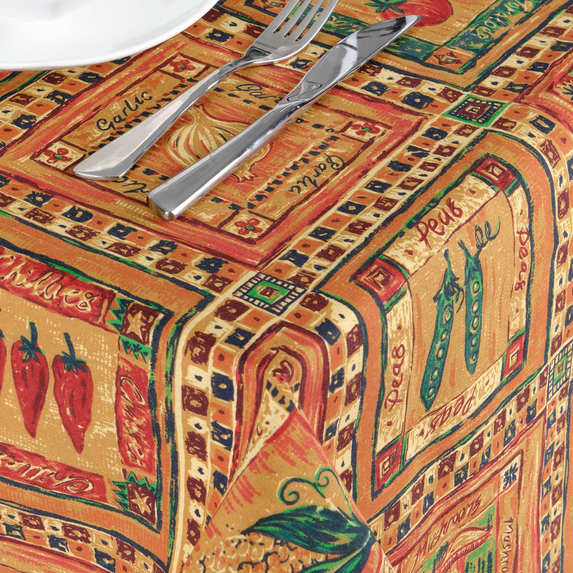 Chillies Collection Tablecloth