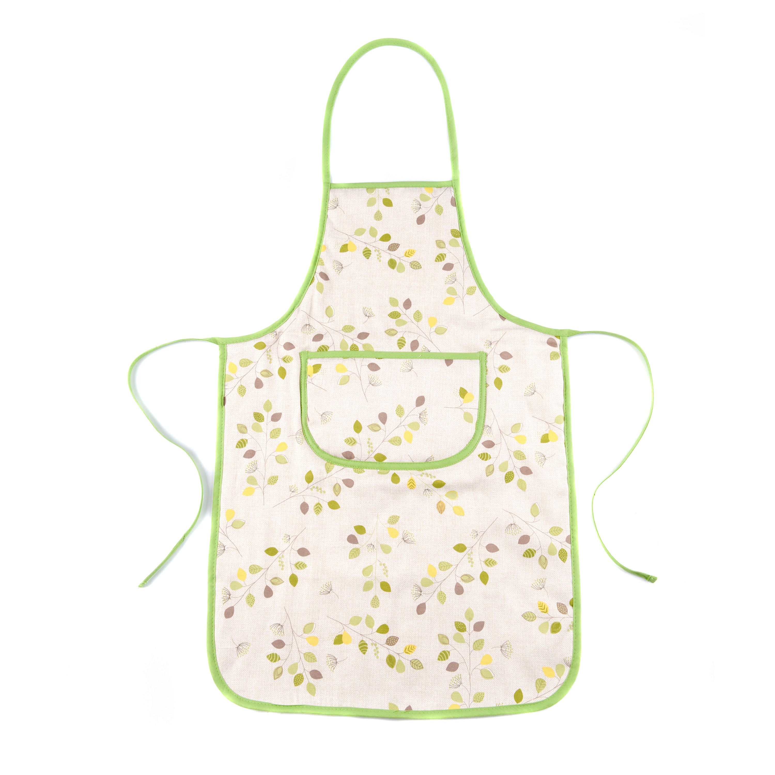 Modern Country Leaf Collection Apron