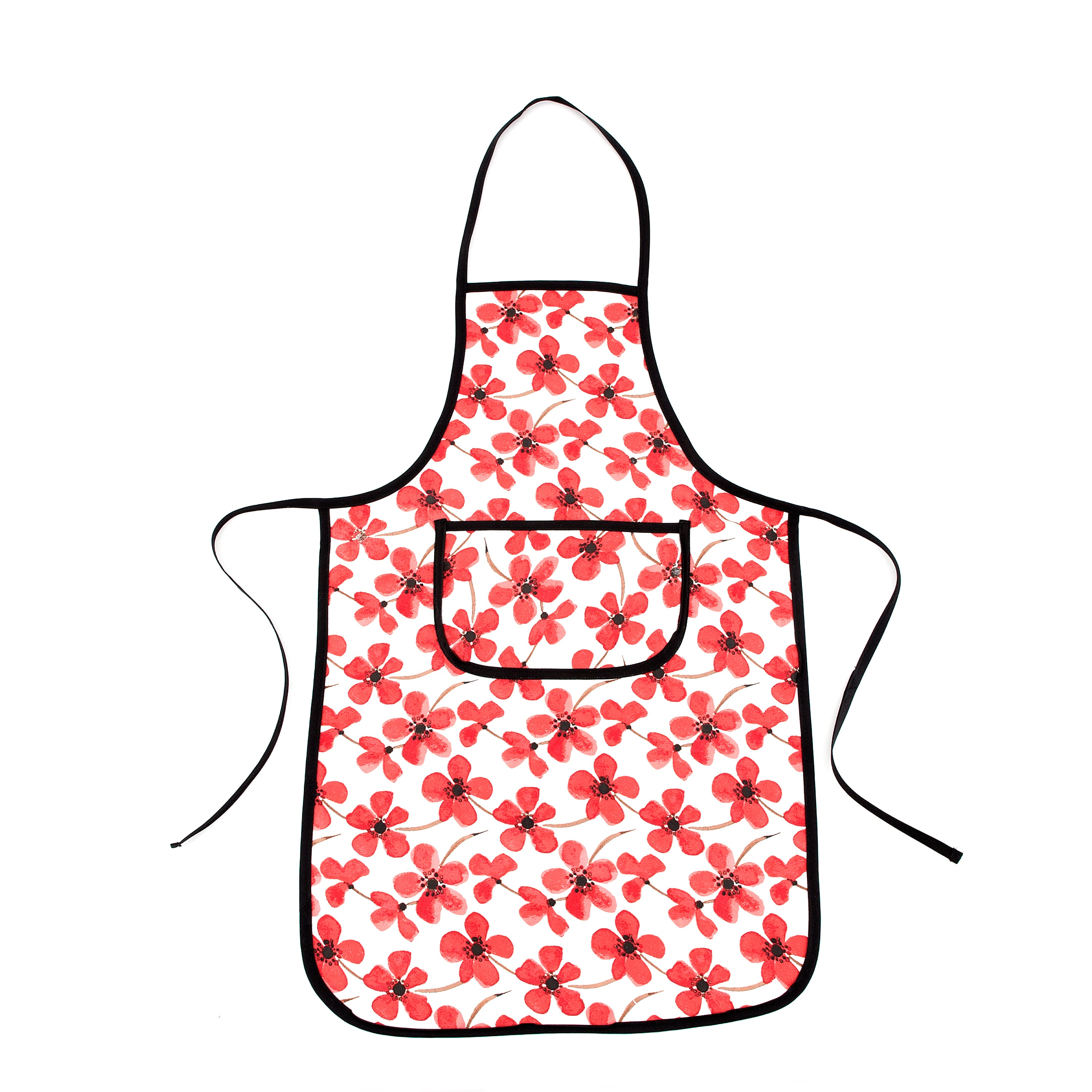 Painted Poppy Collection Apron