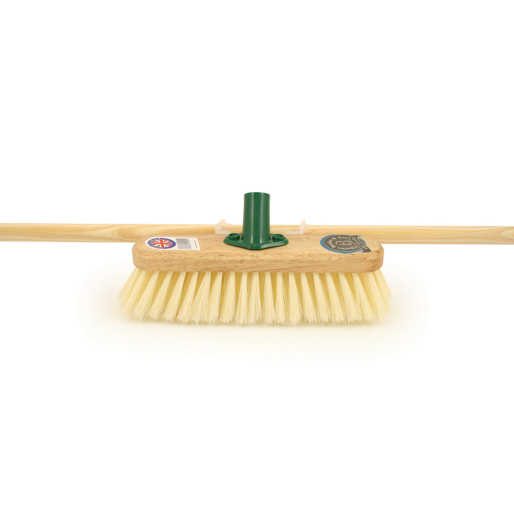 Varnished PVC Broom