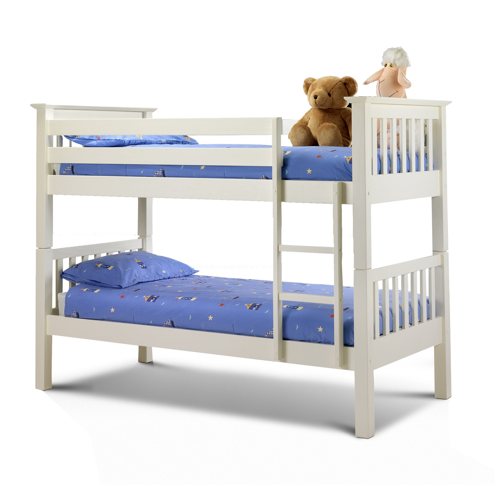 Kids White Orlando Bunk Bed