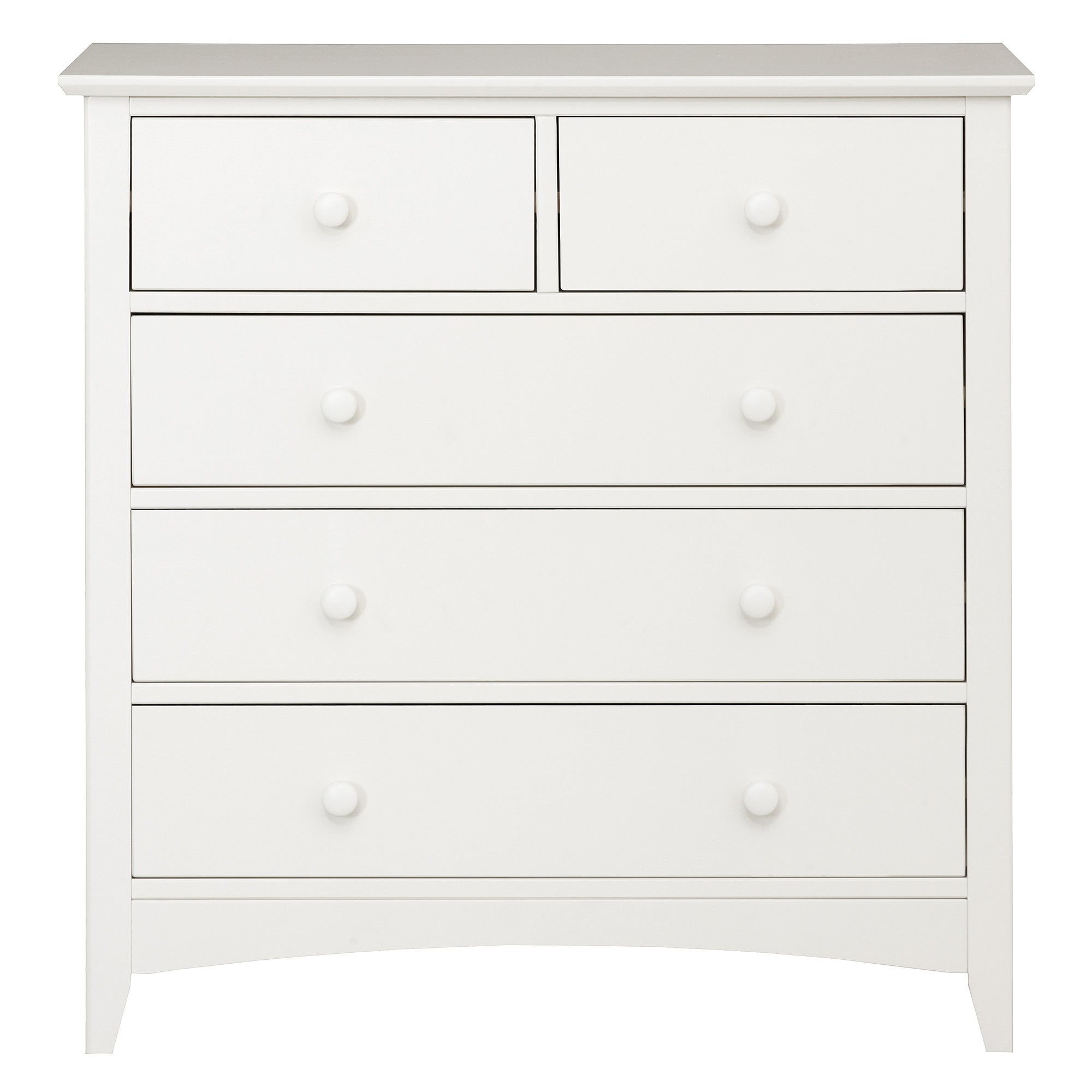 Windsor White 5 Drawer Chest