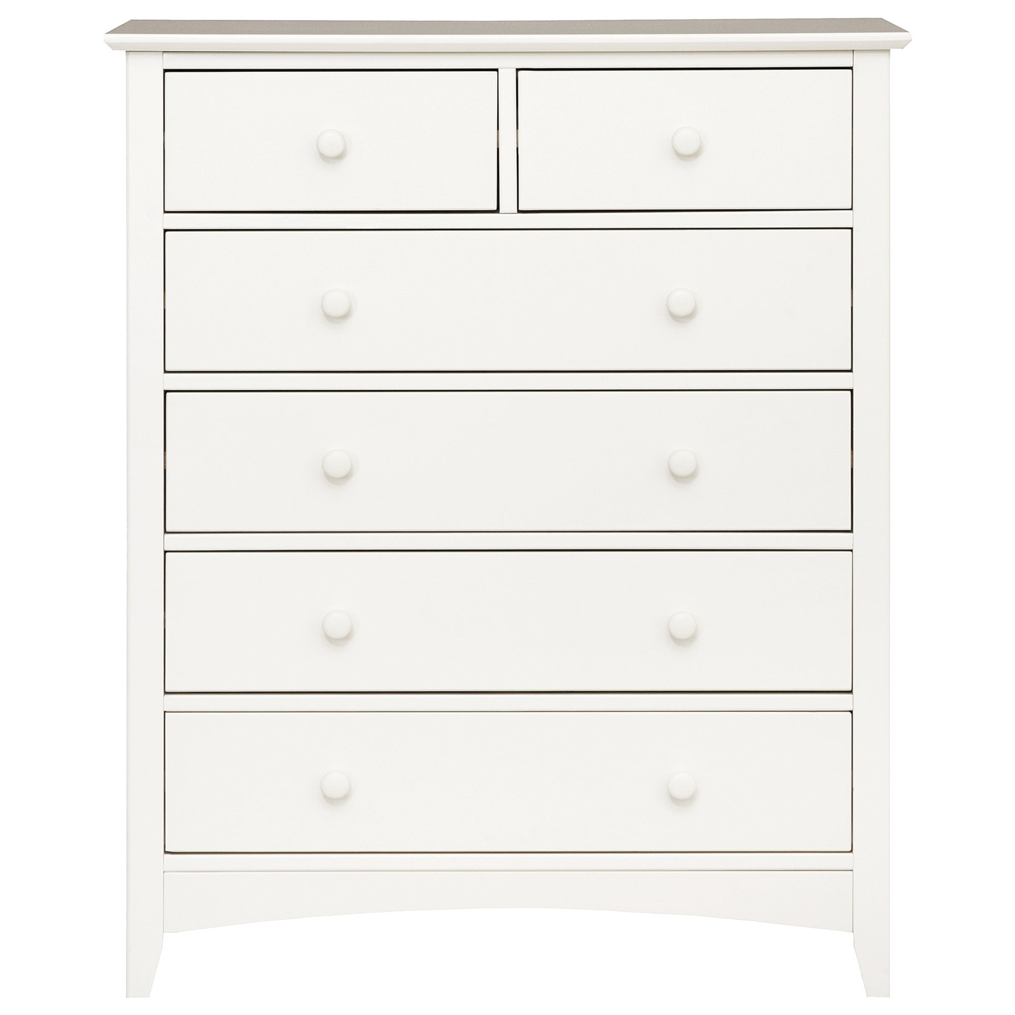 Windsor White 6 Drawer Chest