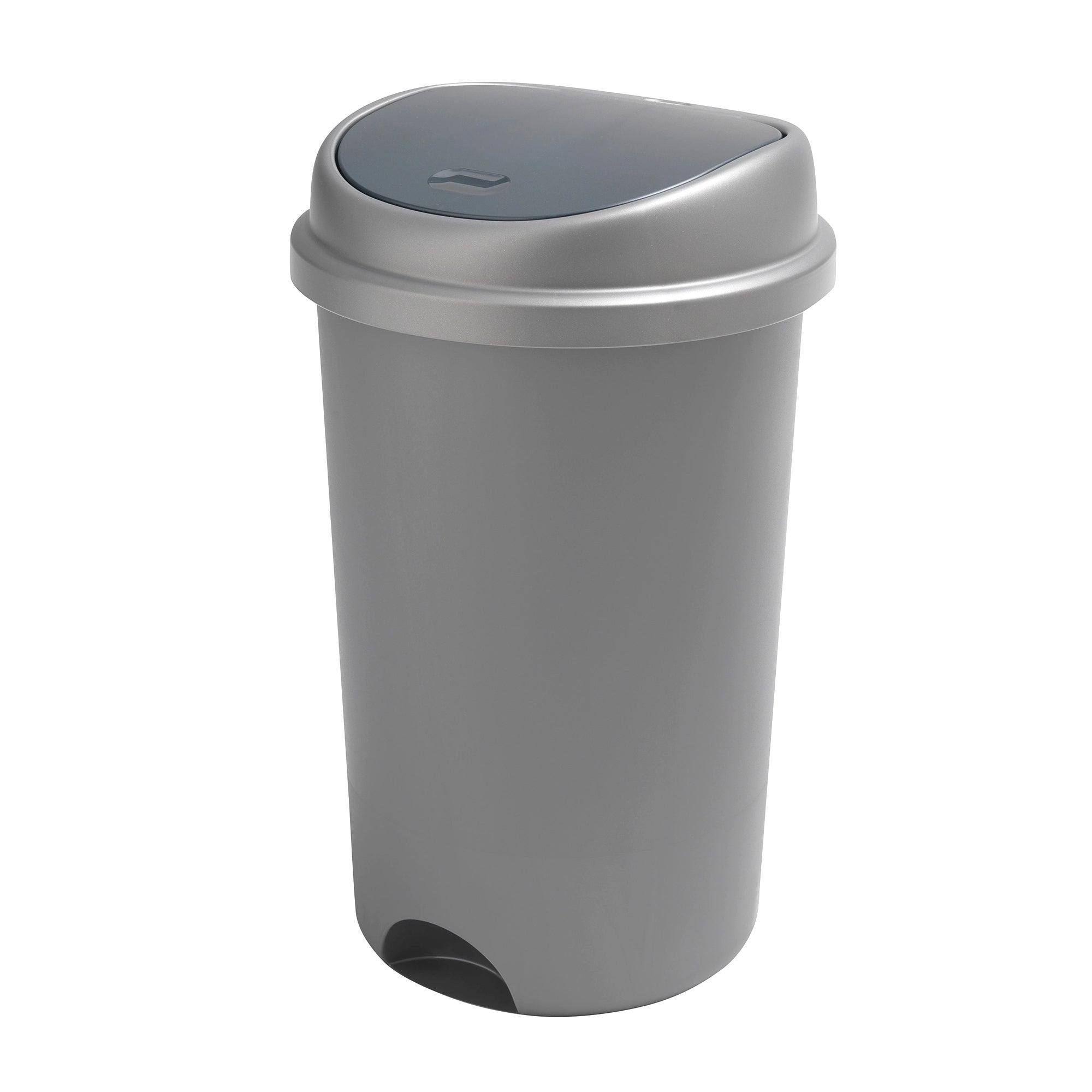 Addis Silver 50 Litre Press Top Bin