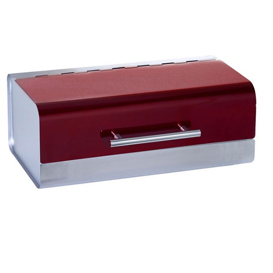 Red Spectrum Collection Bread Bin