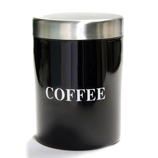 Black Spectrum Collection Coffee Canister