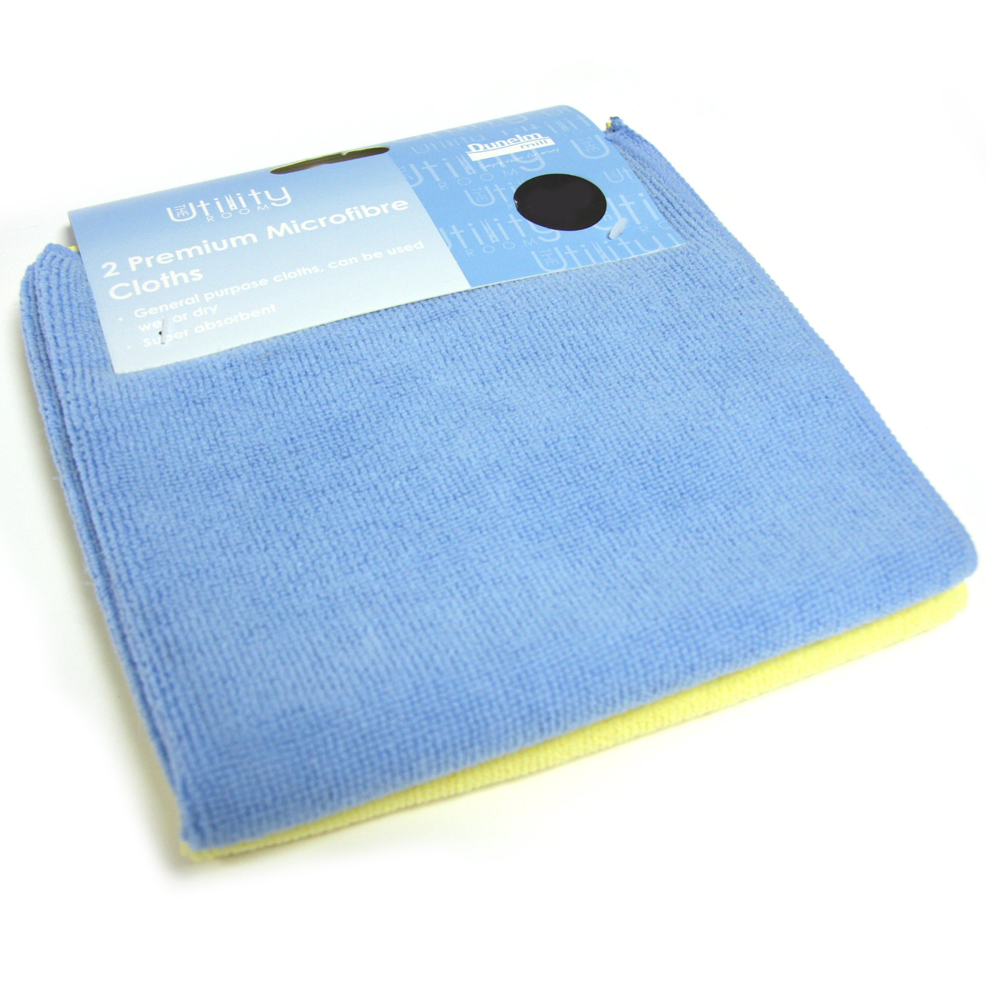 Pack of 2 Premium Microfibre Cloths