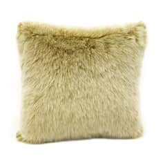 Luxury Faux Fur White Fox Cushion