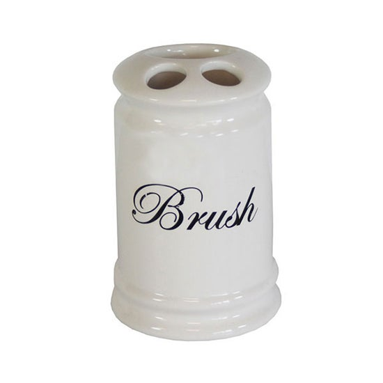 Scroll Collection Toothbrush Holder