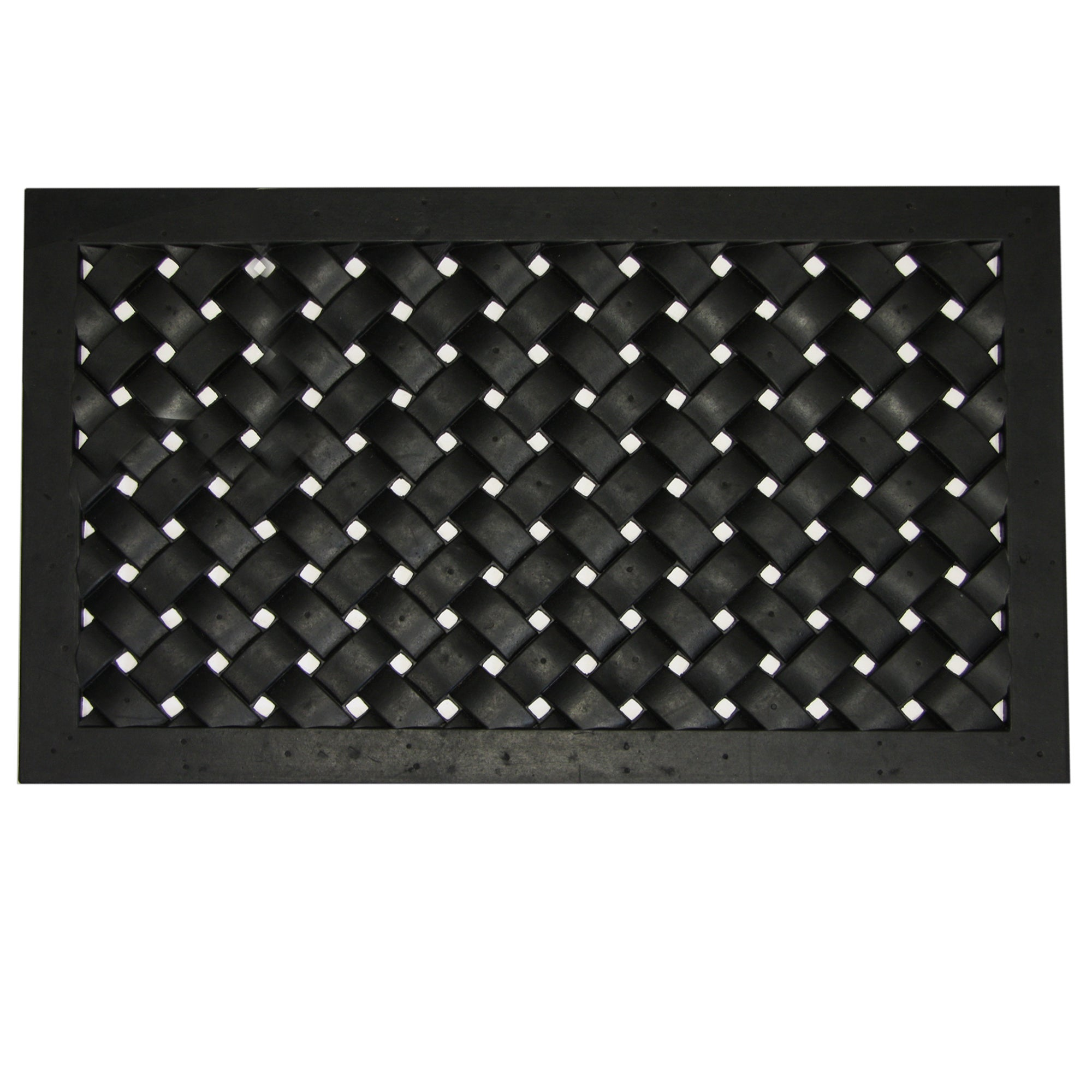 Diamond Rubber Doormat