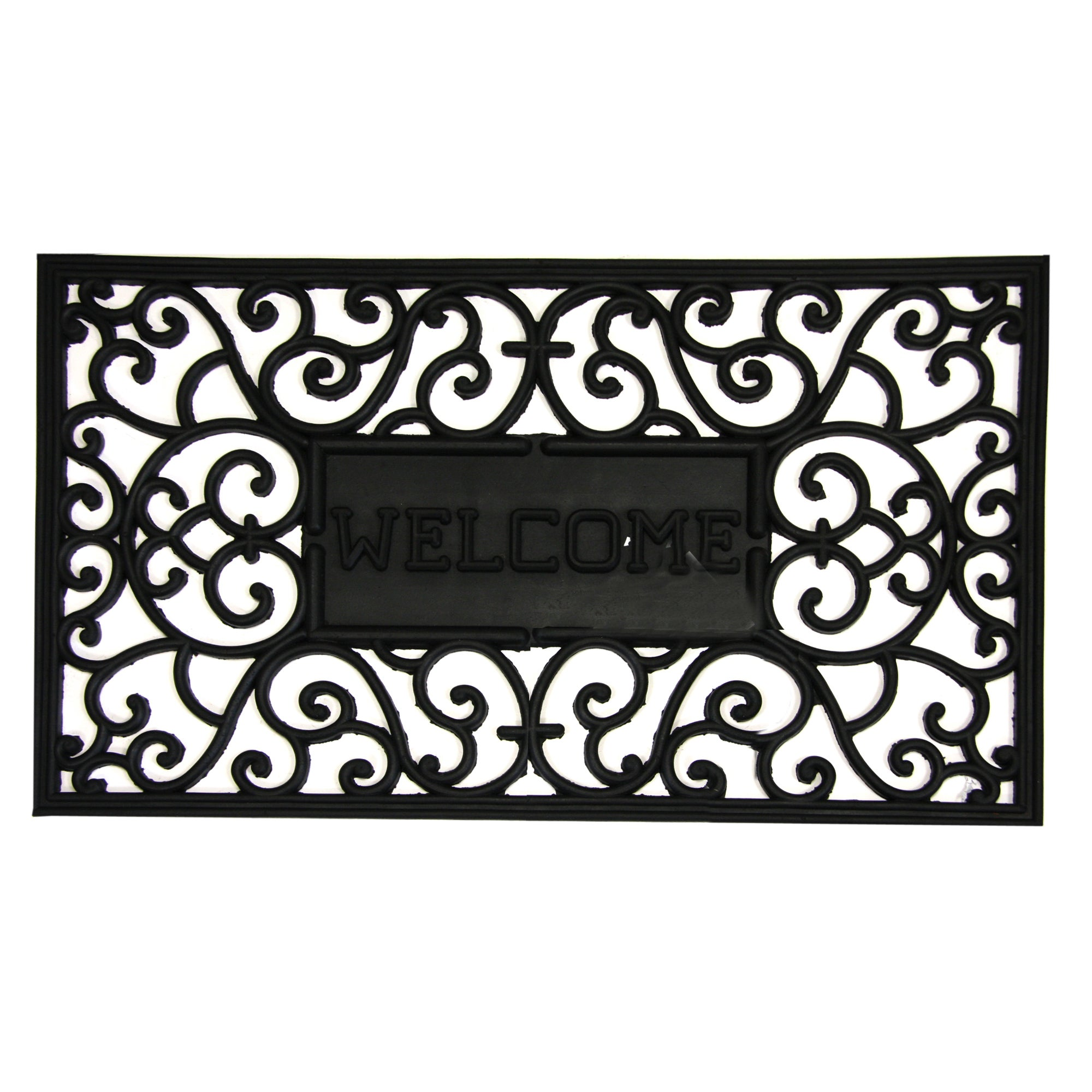 Welcome Rubber Doormat