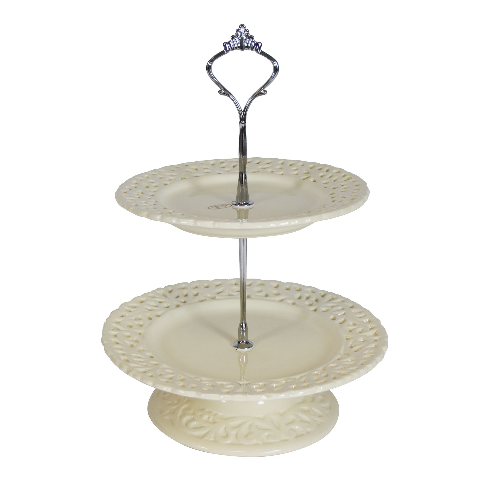 Rochelle Collection Two Tier Cake Stand