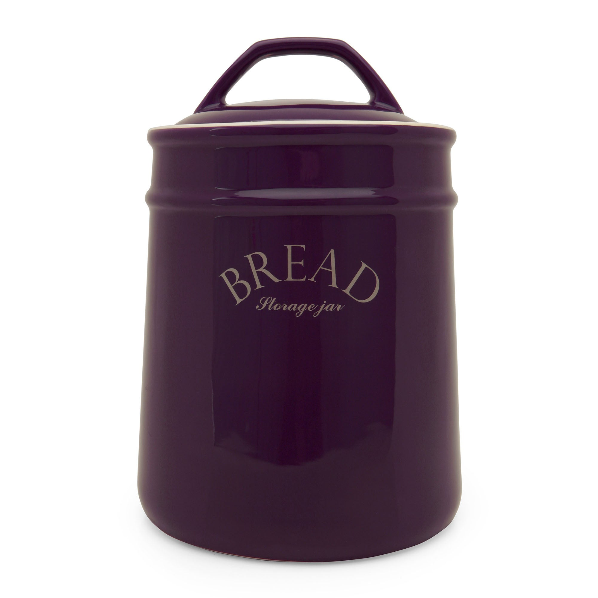 Mulberry Collection Purple Bread Bin