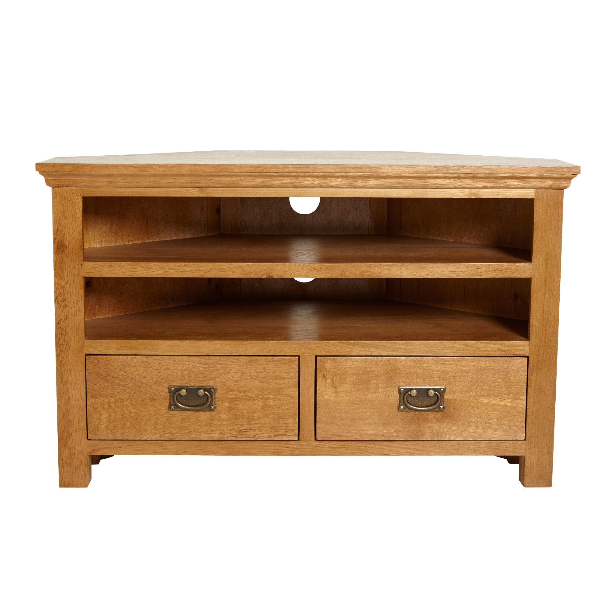 Dorchester Oak Corner TV Unit