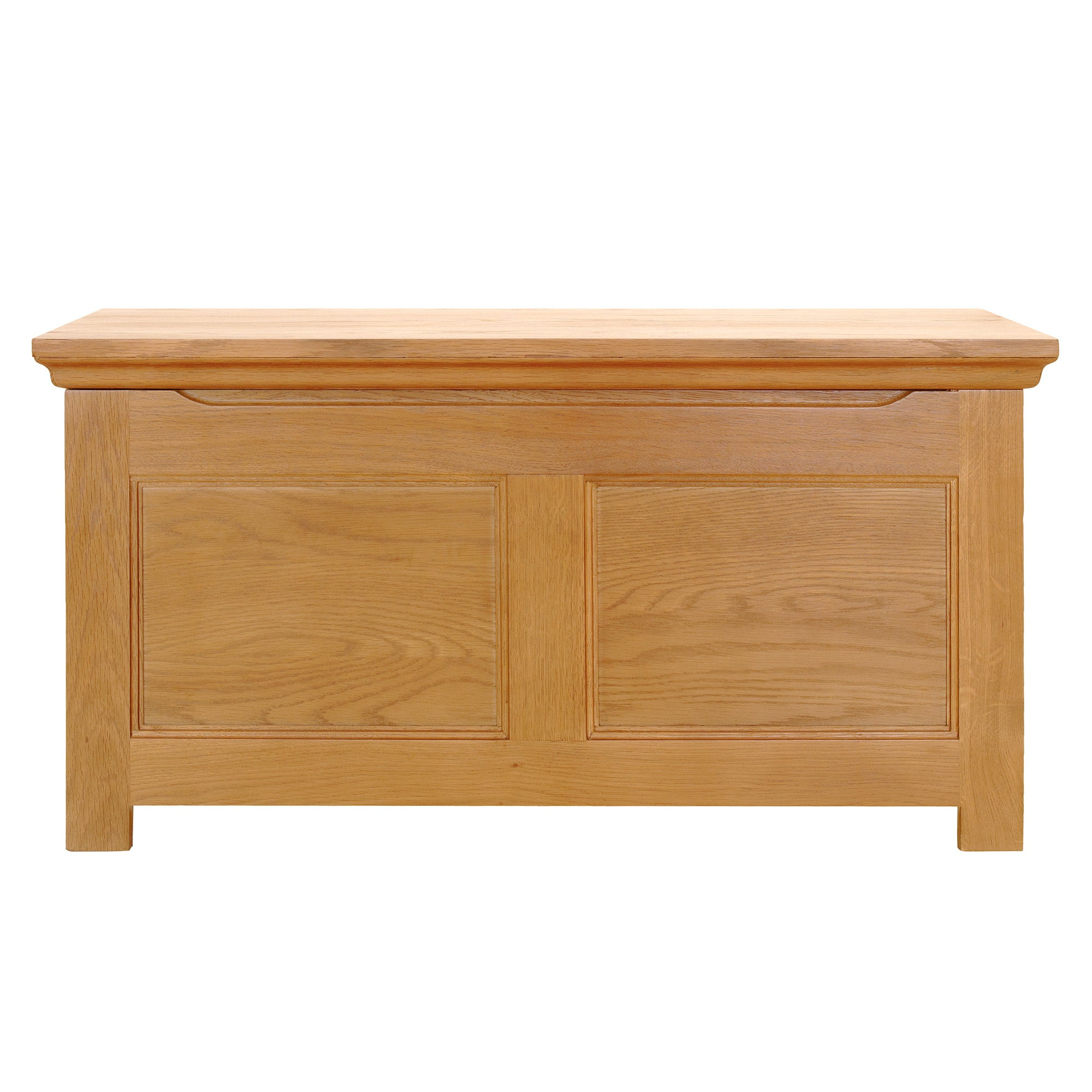 Dorchester Oak Blanket Box