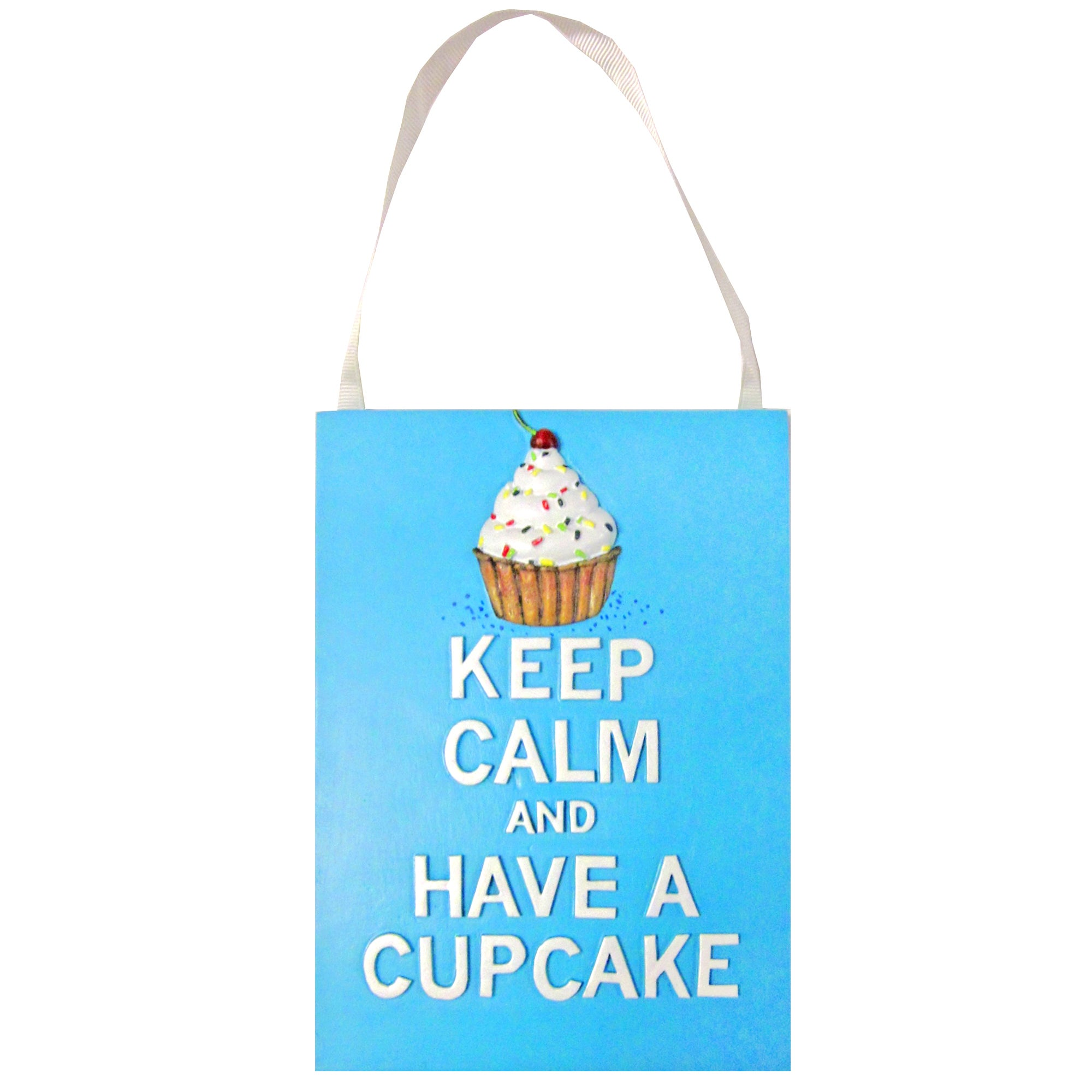 Cupcake Wall Plaque