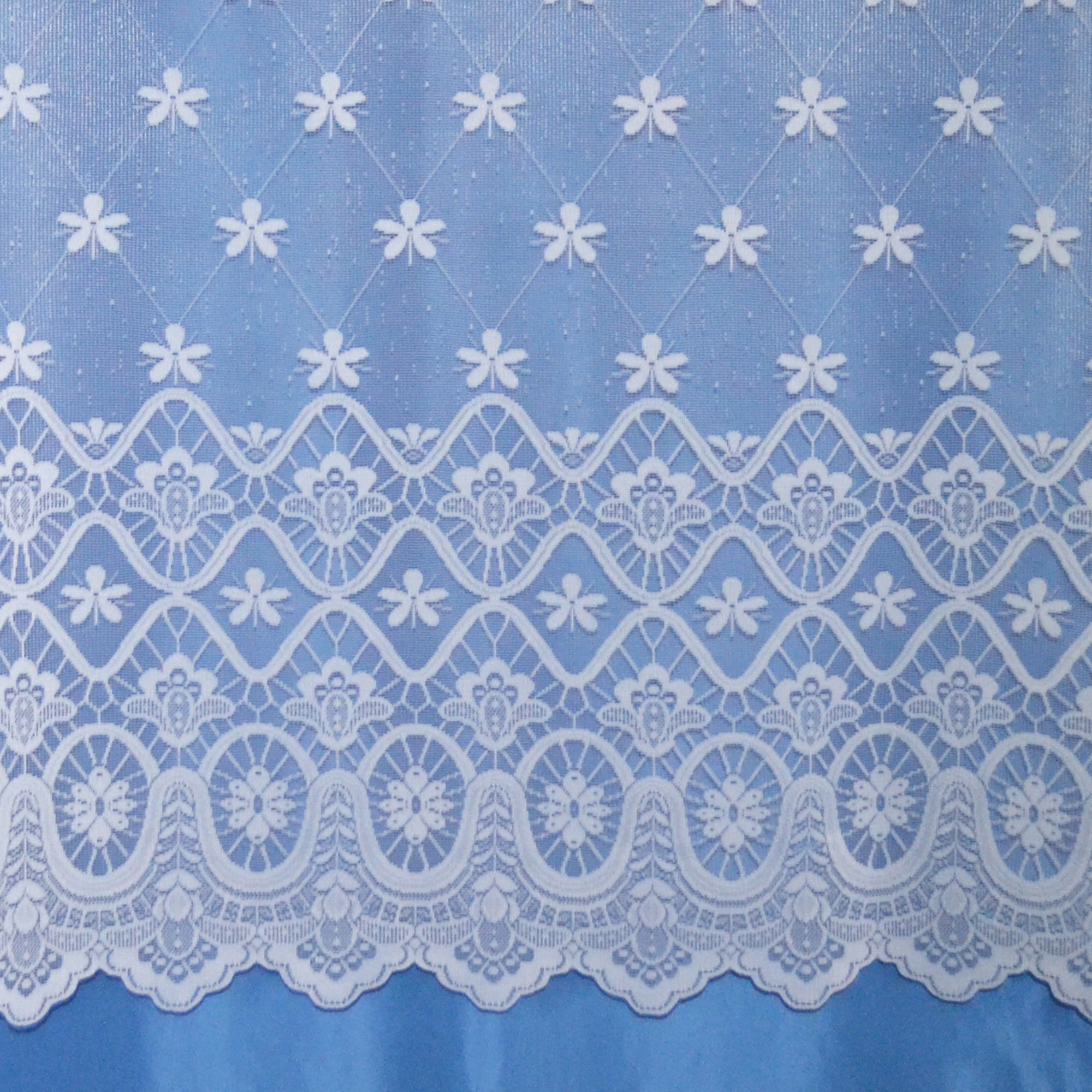 Kempton Brise Bise White Net Fabric