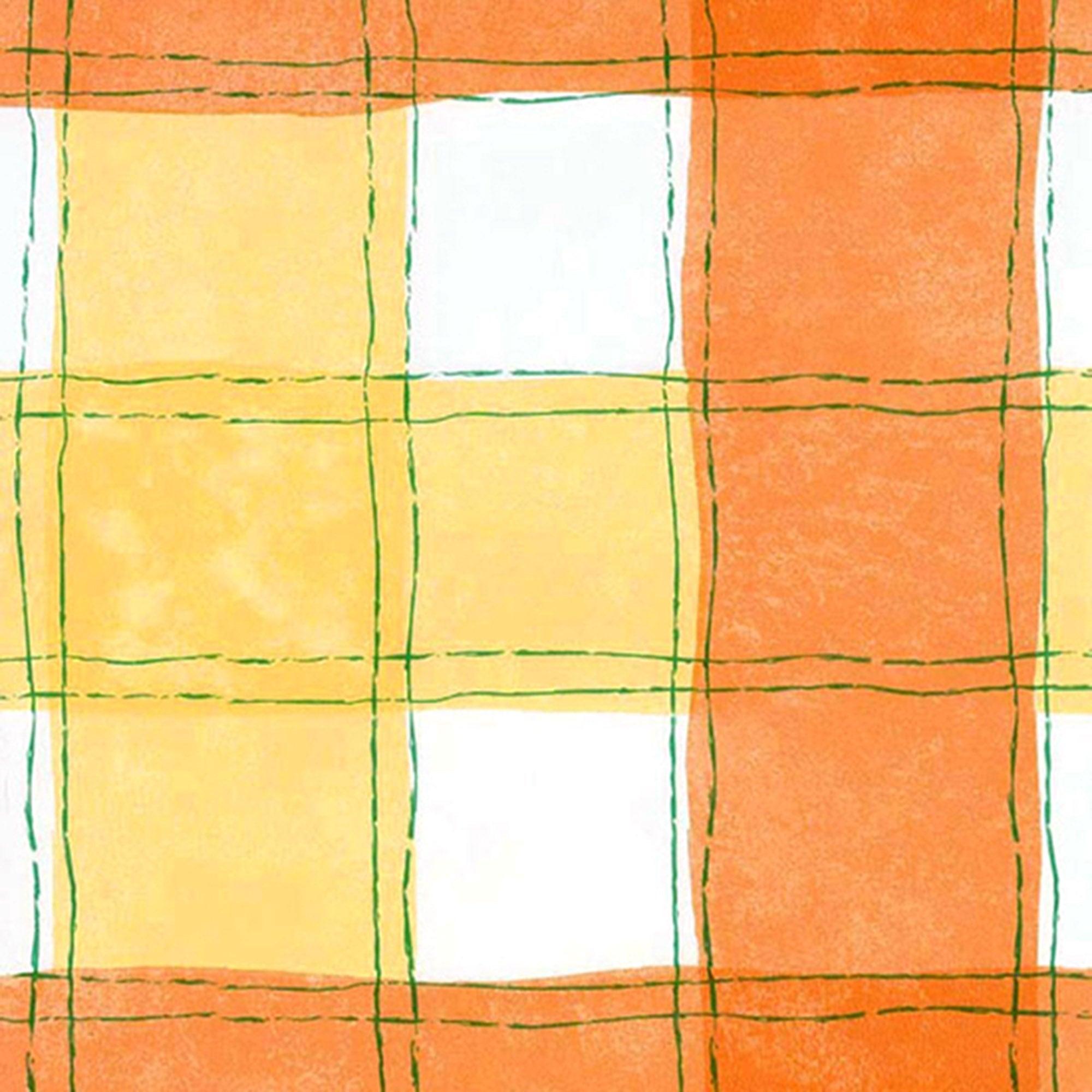 Wavy Check PVC Fabric