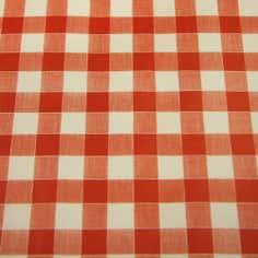 Gingham PVC Fabric
