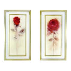 Roses are Red Floating Frame Print