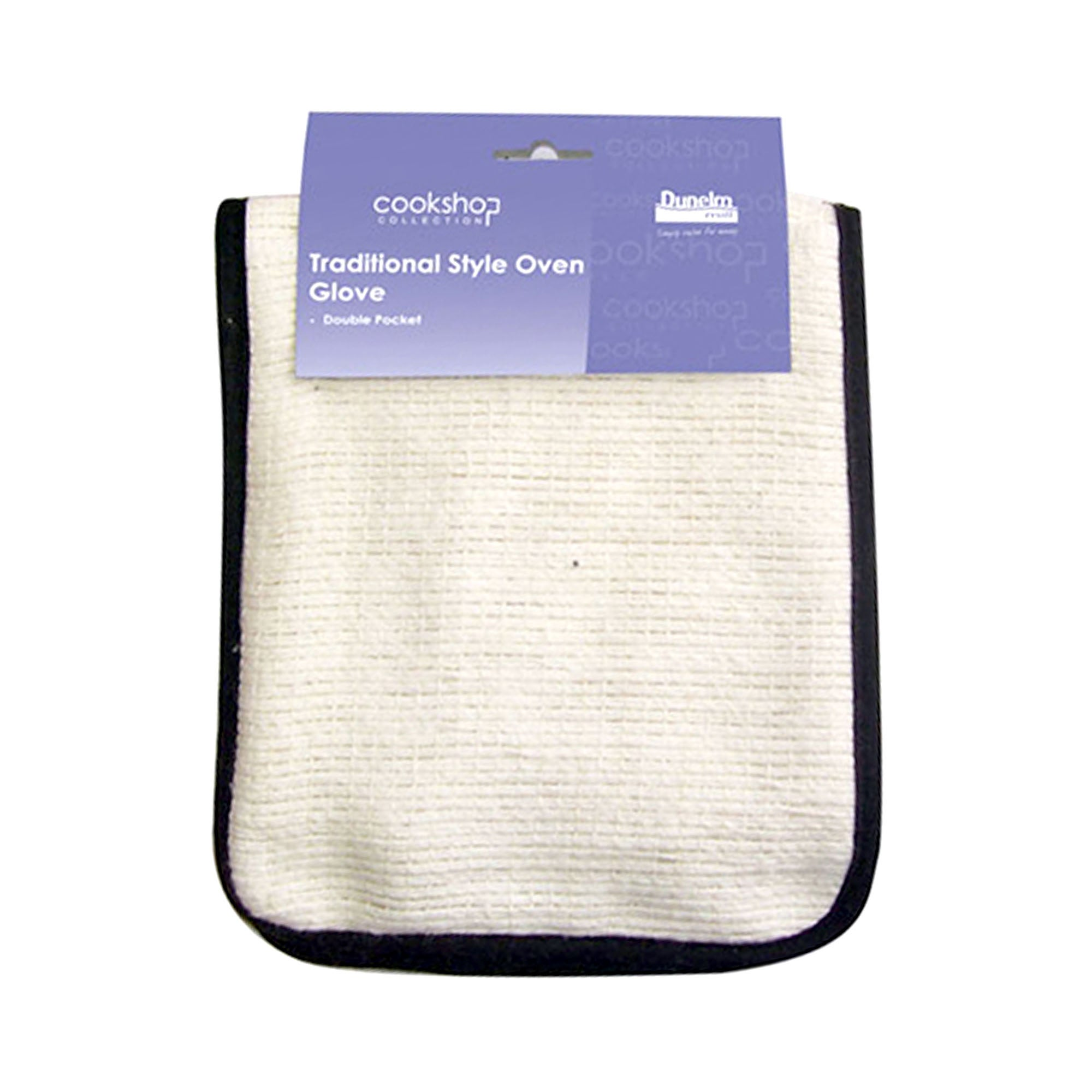 Cookshop Collection Traditional Double Pocket Oven Glove