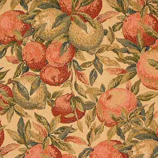 Belle Orange Fabric