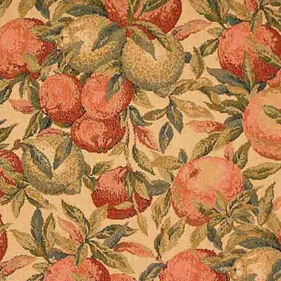 Belle Orange Fabric