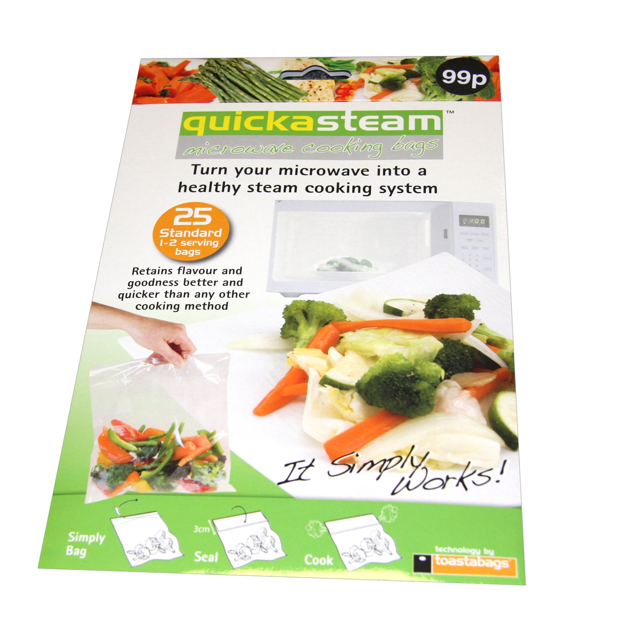 Quickasteam Microwave Cooking Bags