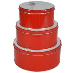 Poppy Collection Set of 3 Storage Tins