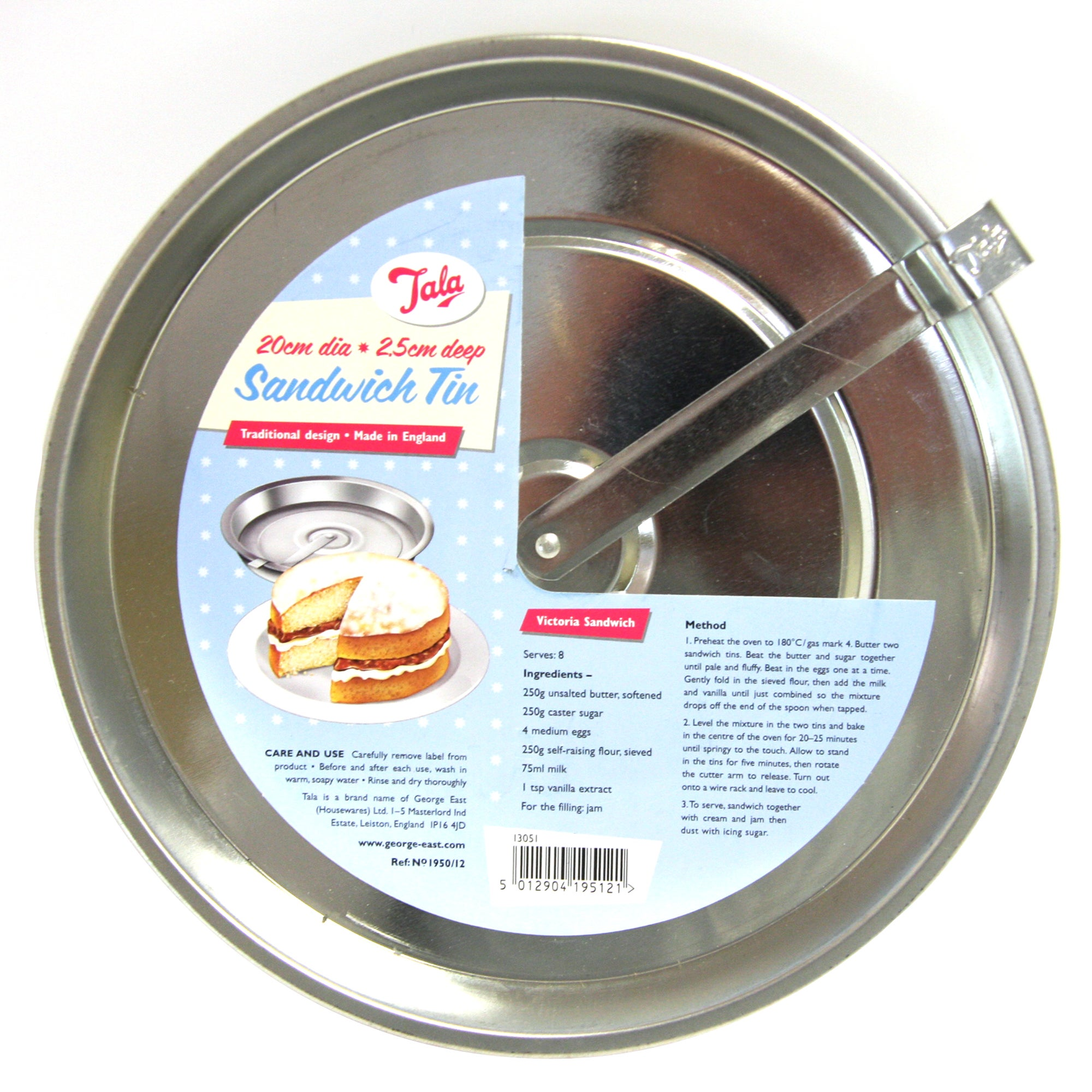 Tala Clean Cut Sandwich Tin