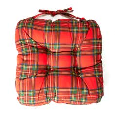 Scottish Tartan Collection Seat Pad