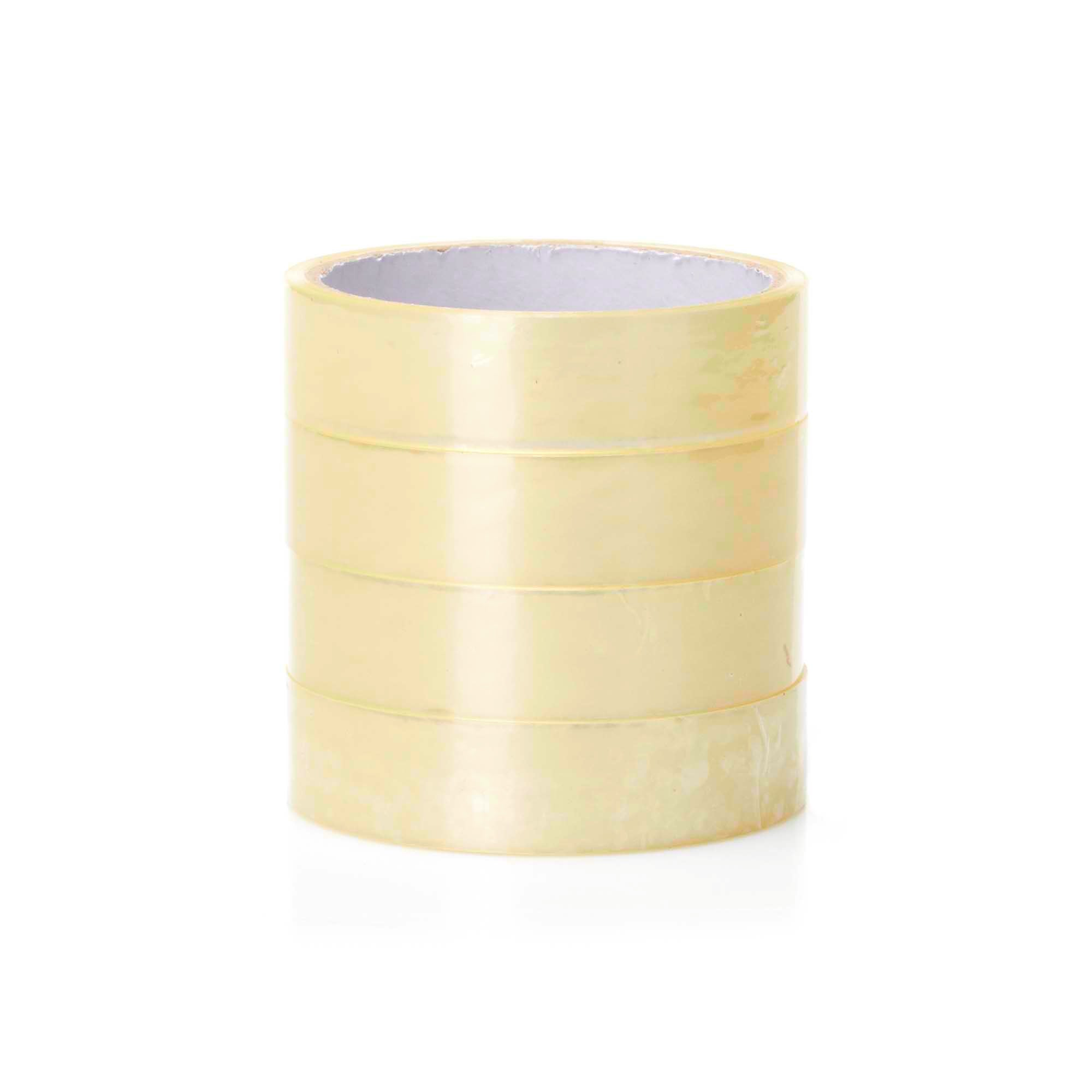 Pack of 4 Clear Tape Rolls