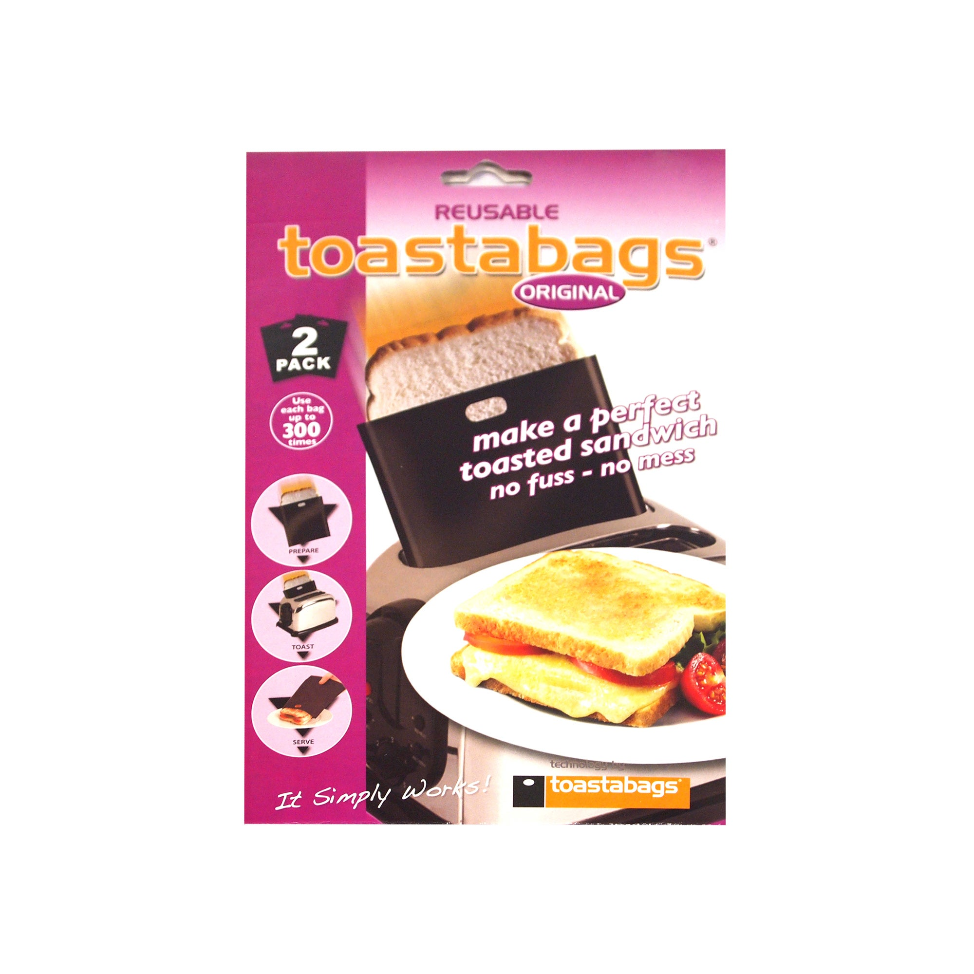 Pack of 2 Toastabags