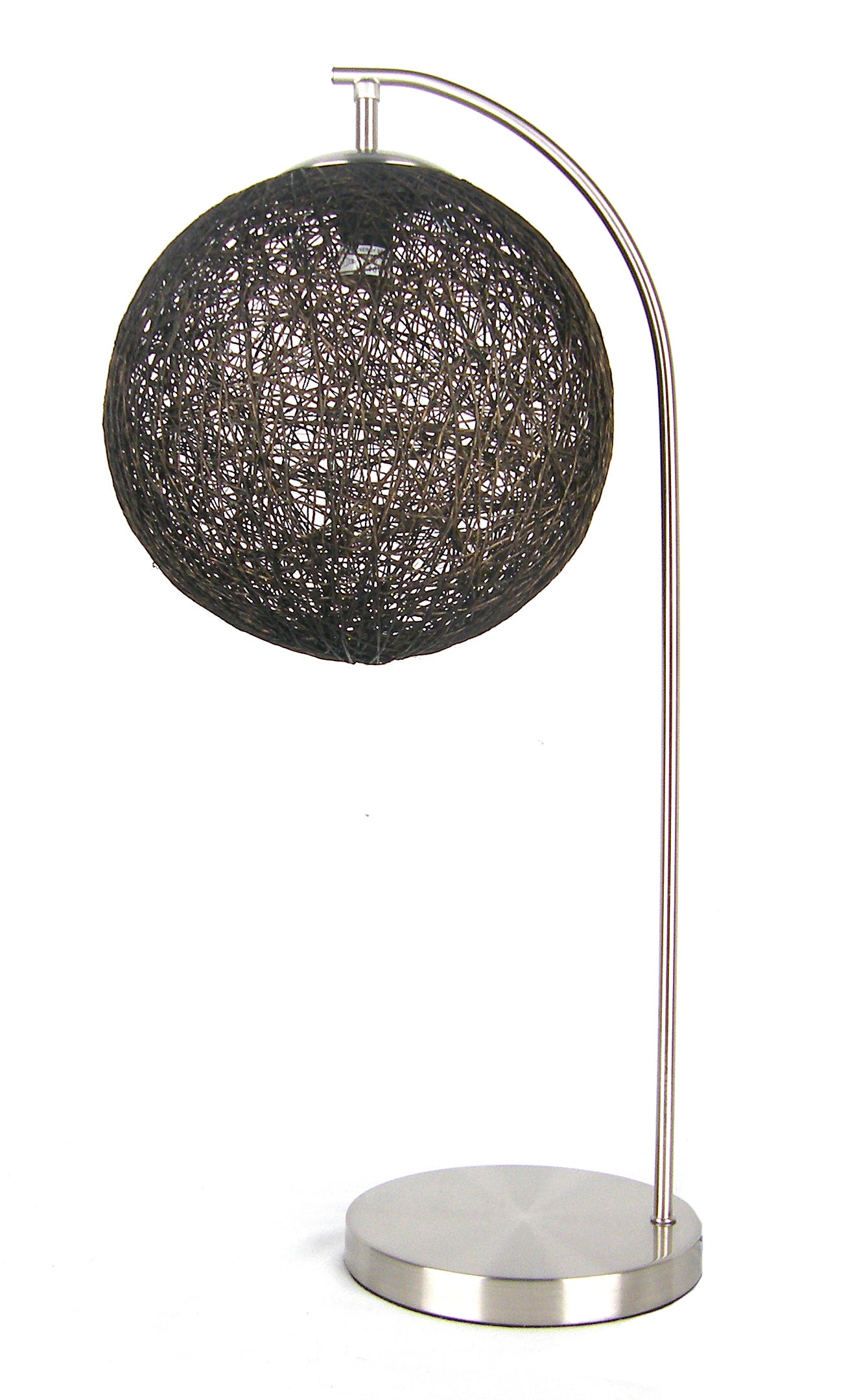 Abaca Ball Table Lamp