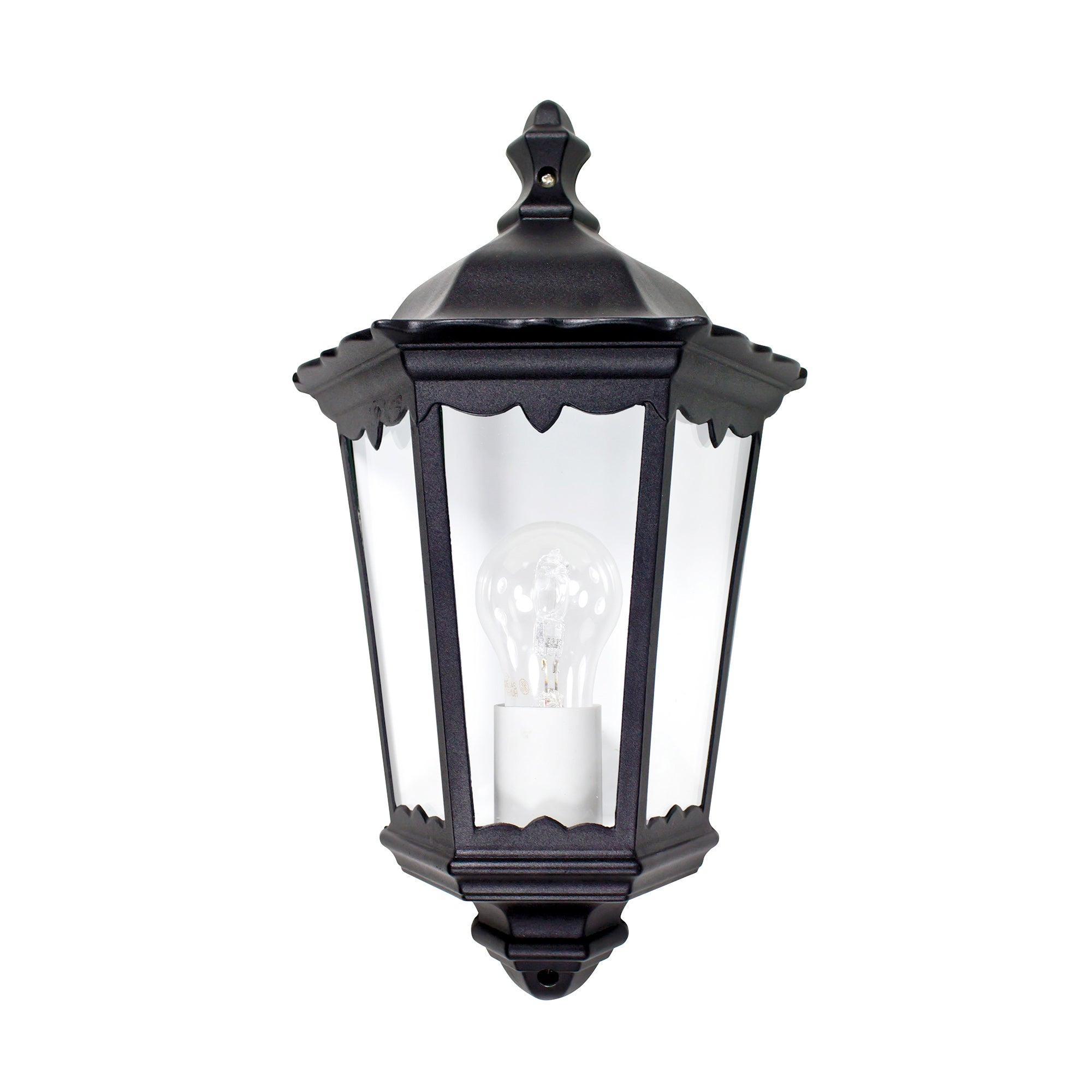 Outdoor Half Wall Lantern