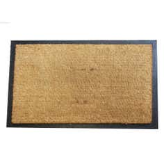 Jumbo Plain Rubber and Coir Doormat