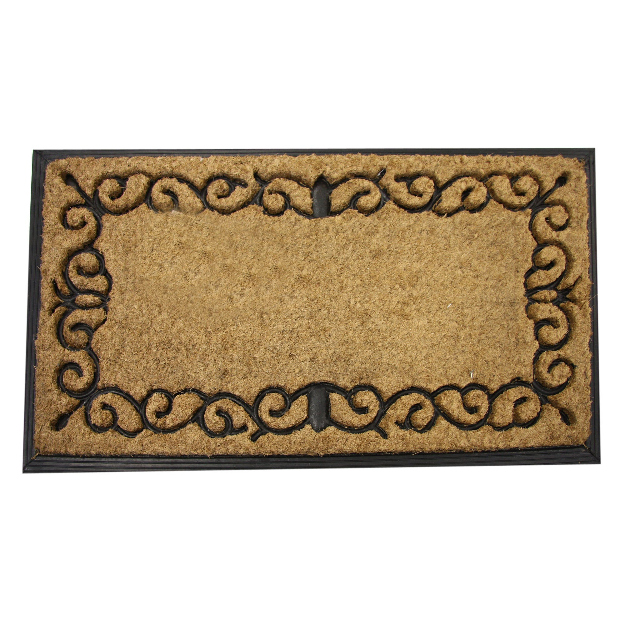 Border Scroll Doormat