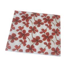 Red Painted Poppy Collection Paper Napkins