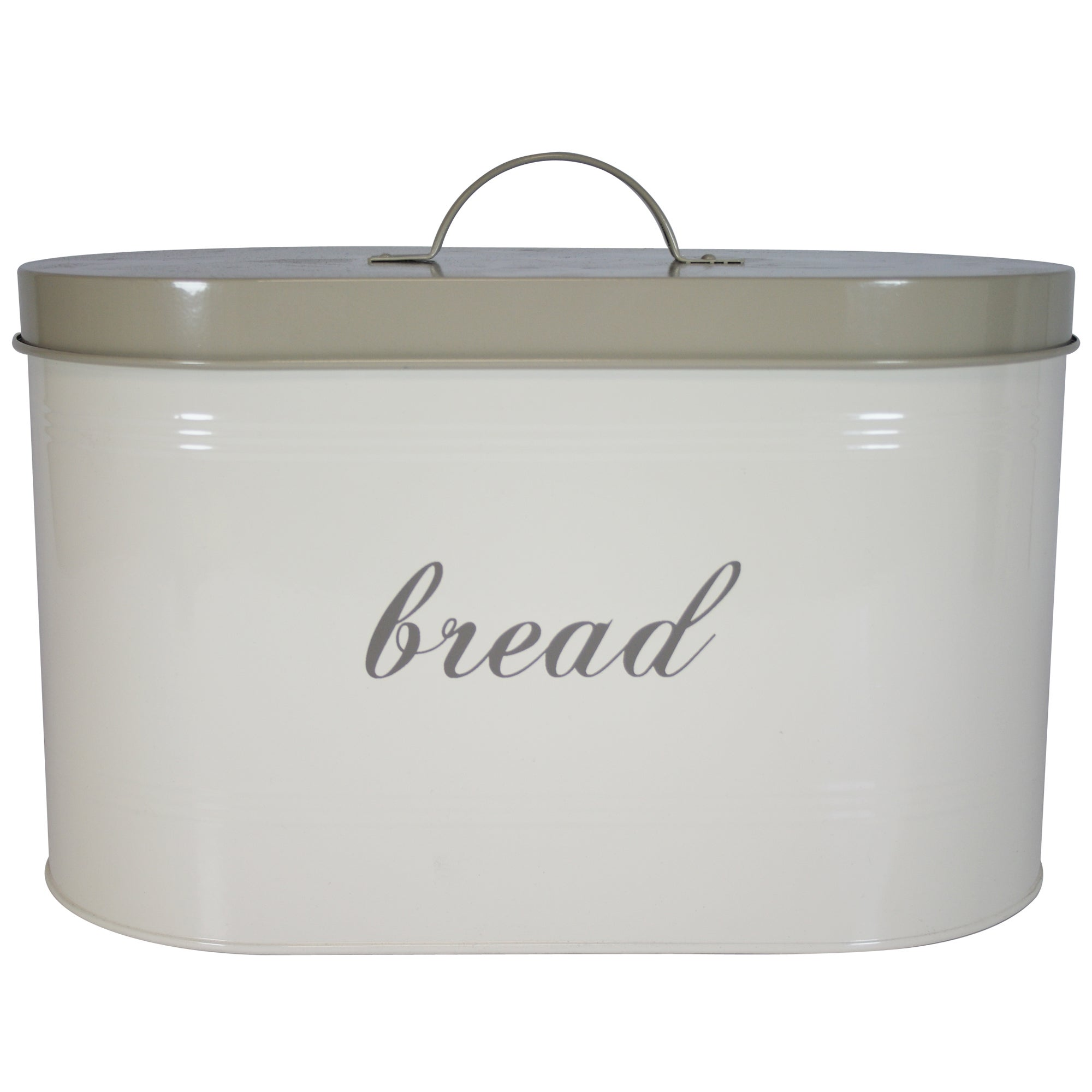 Cream Farmhouse Collection Bread Bin