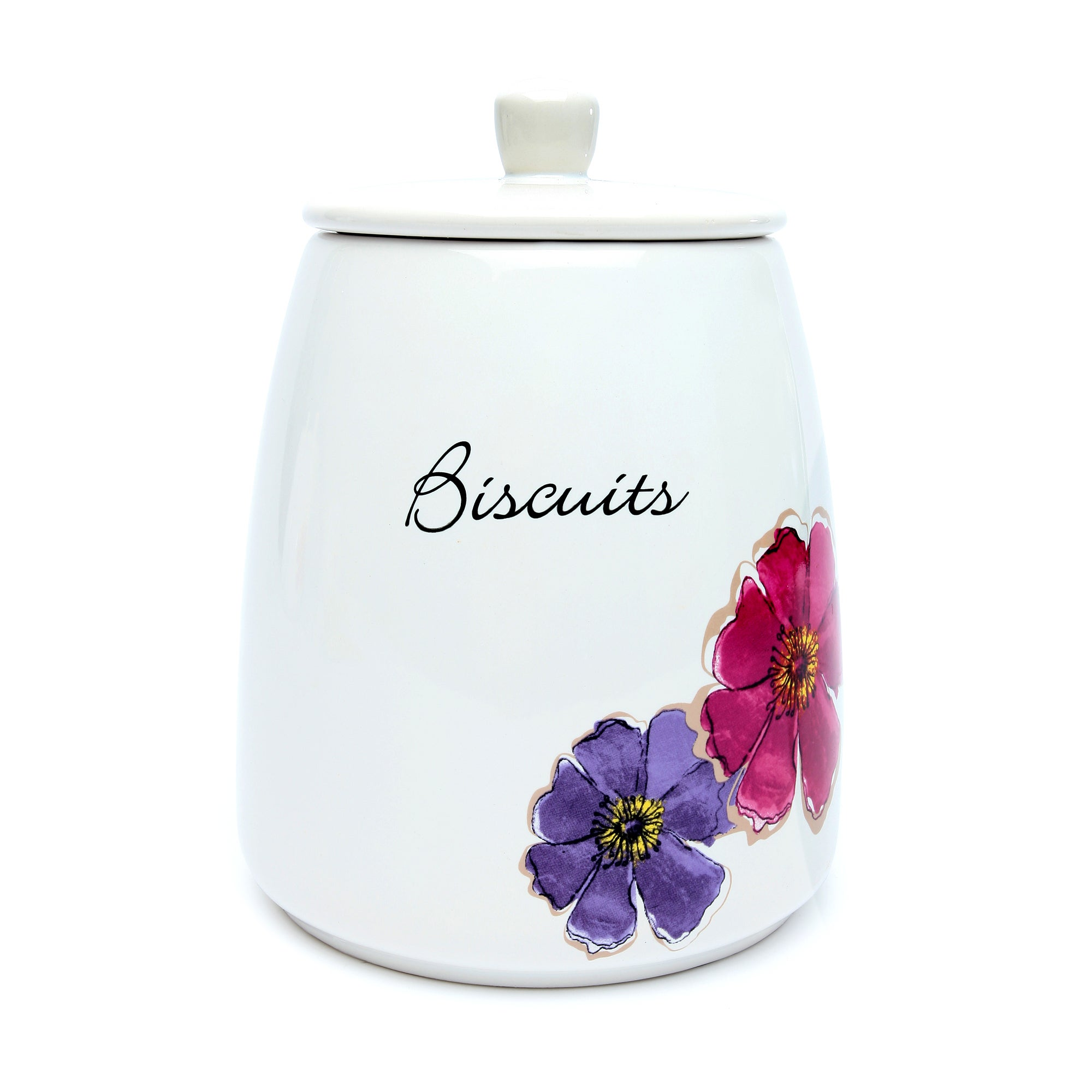 Mulberry Flower Collection Biscuit Storage Jar