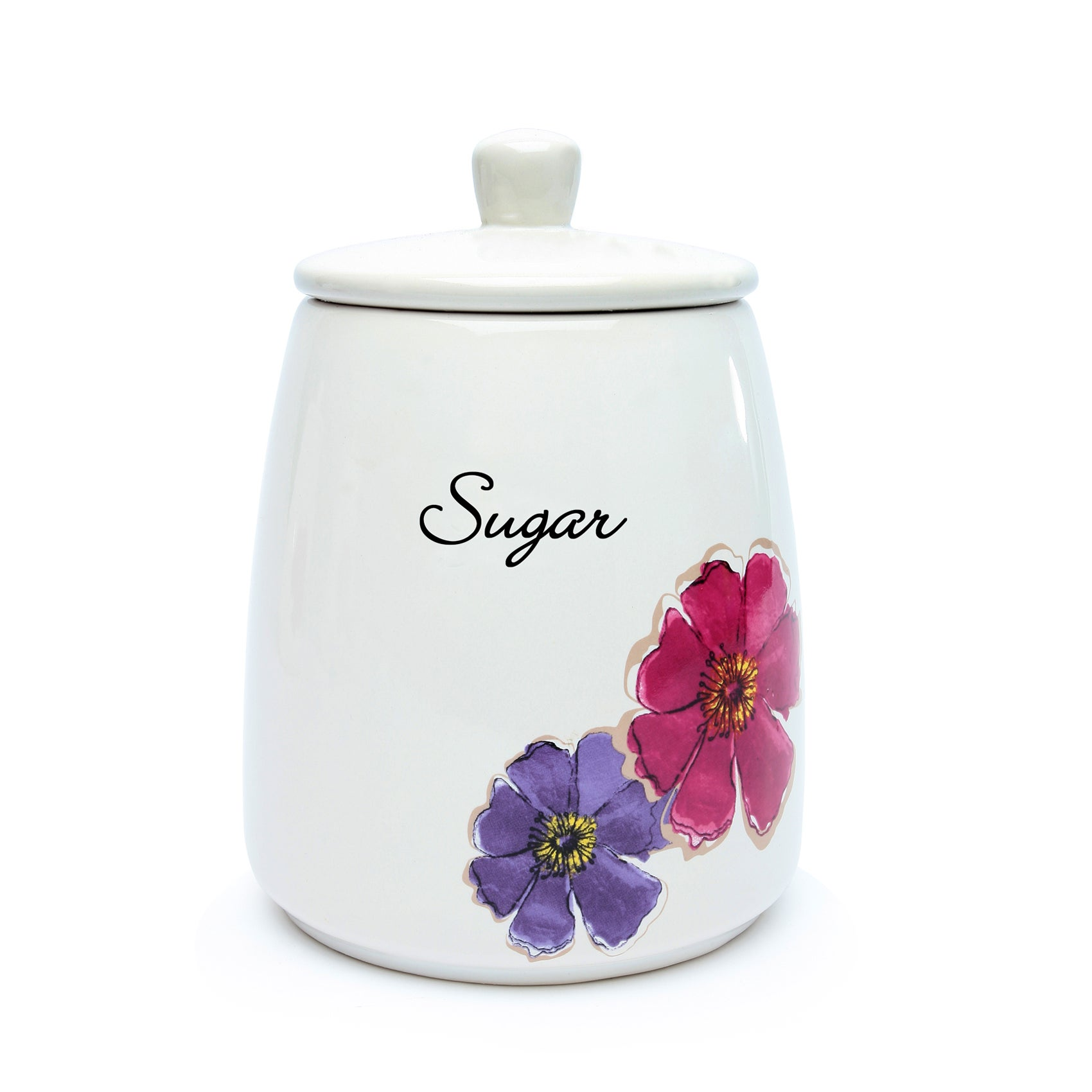 Mulberry Flower Collection Sugar Storage Jar