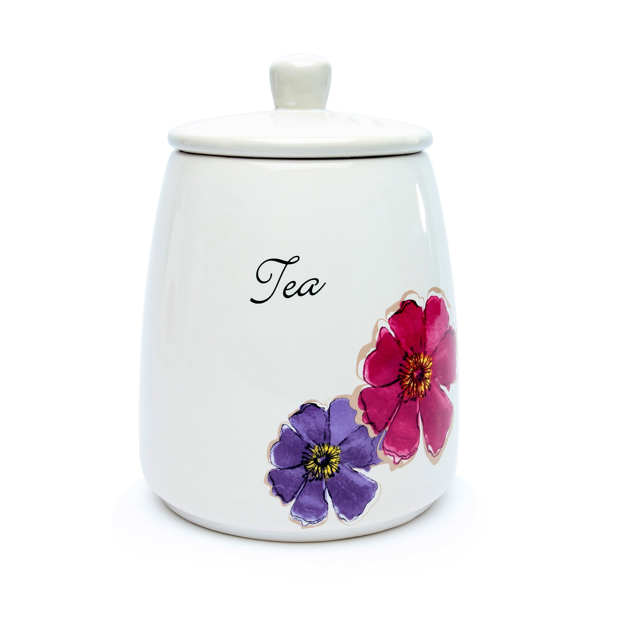 Mulberry Flower Collection Tea Storage Jar