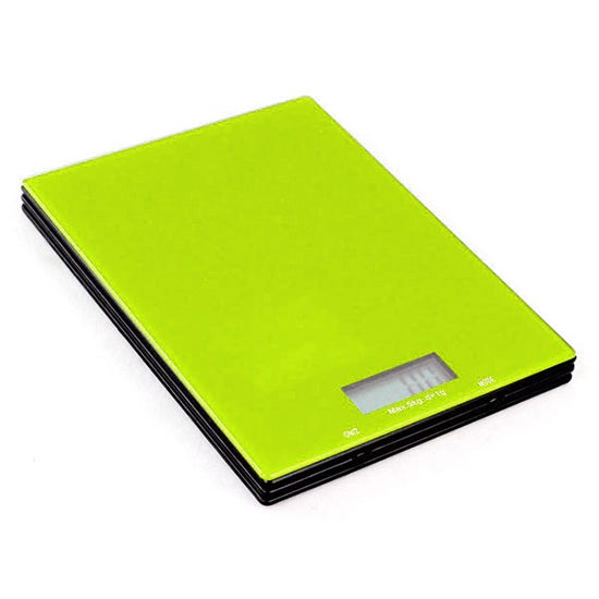 Cookshop Lime 5Kg LCD Kitchen Scales