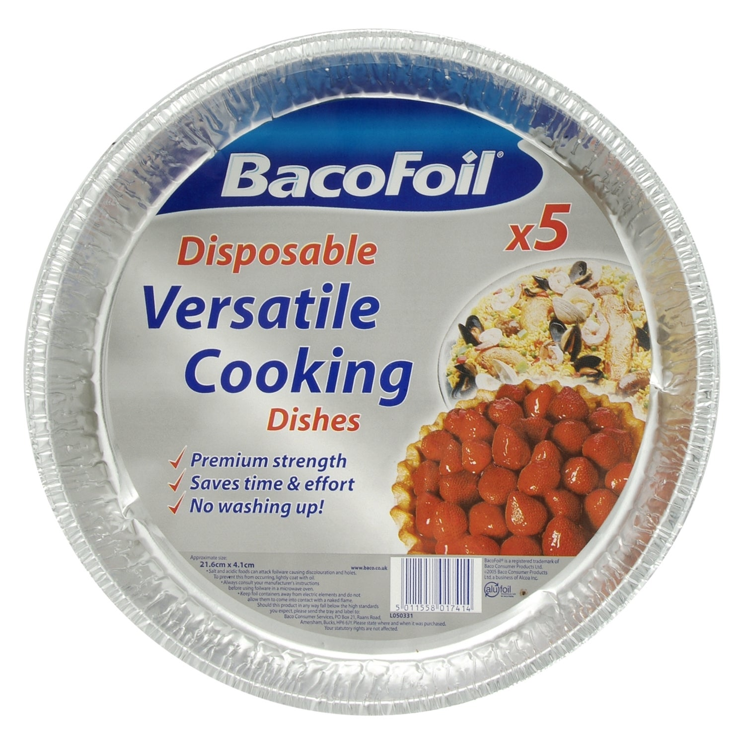 BacoFoil Versatile Dishes