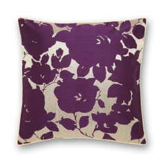 Plum Silhouette Cushion