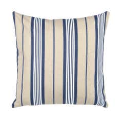 Blue Deck Stripe Cushion