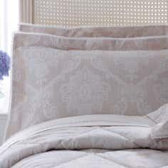 Dorma Natural Aveline Collection Oxford Pillowcase