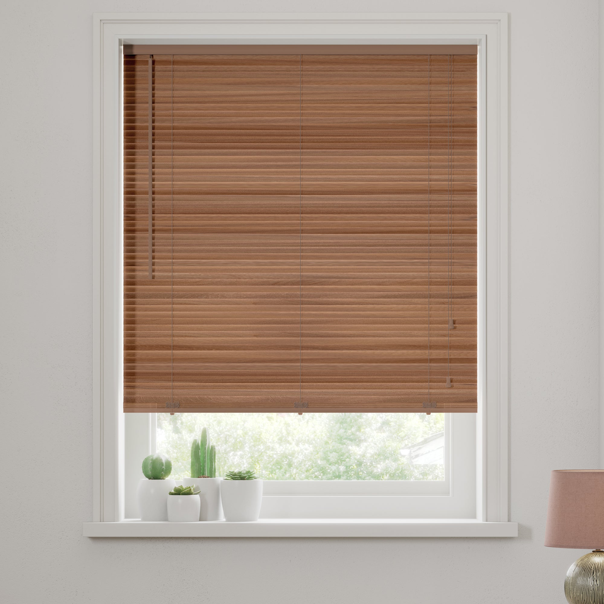 Extended Drop Wooden Venetian Blinds