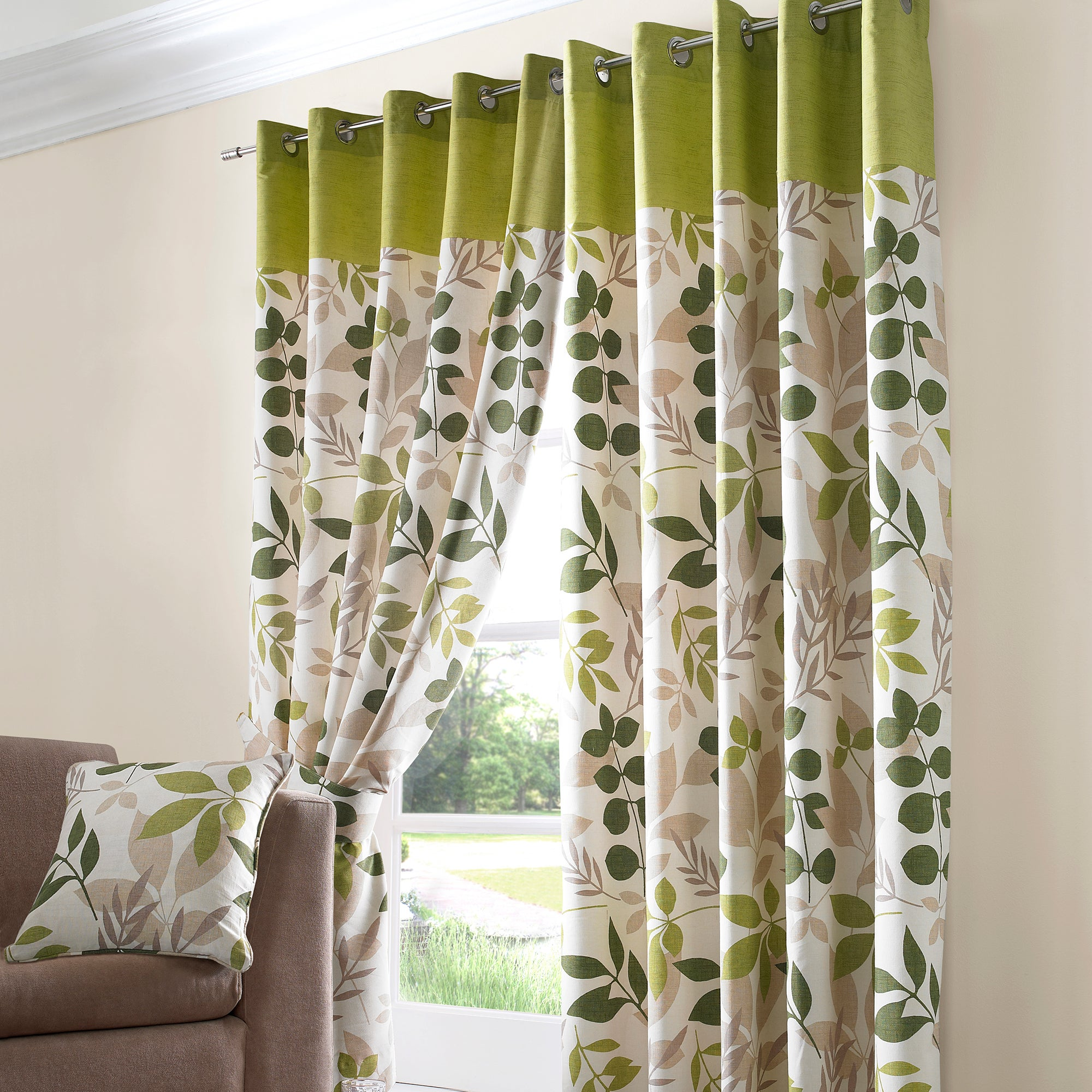 Green Eyelet Curtains Price Comparison Results
