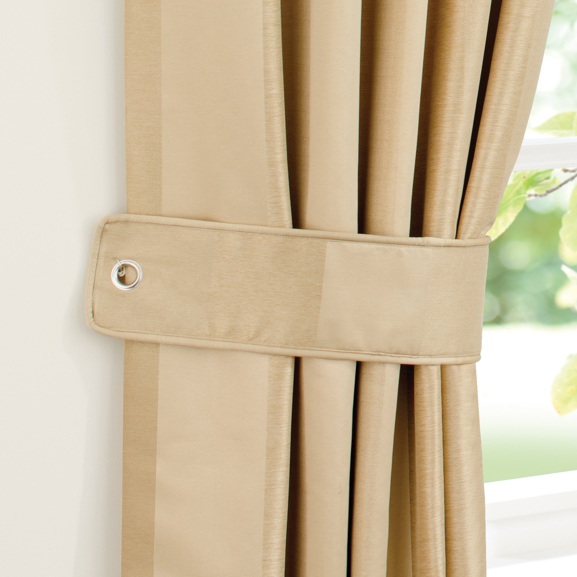 Gold Monaco Curtain Collection